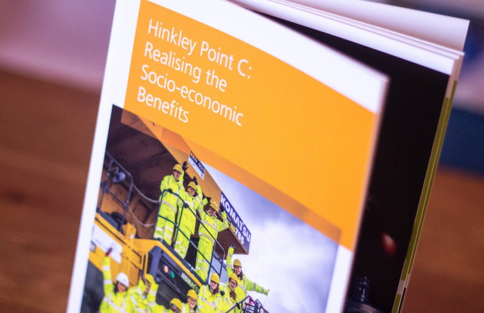 EDF Energy – Socio-Economic Benefits Brochure