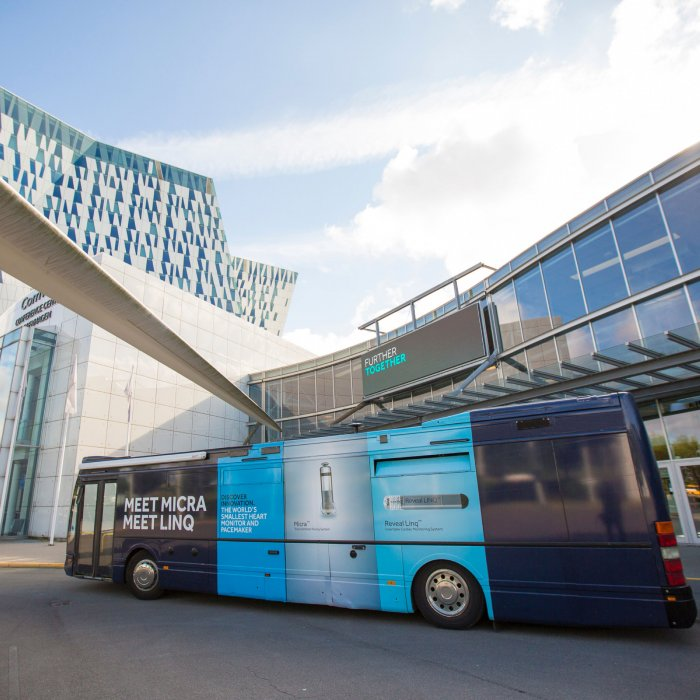 Touring Bus – Experiential Environment