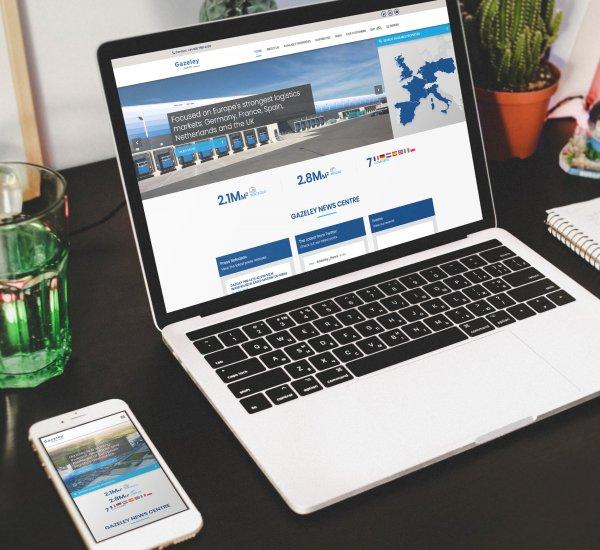 Gazeley- Web Design and Development