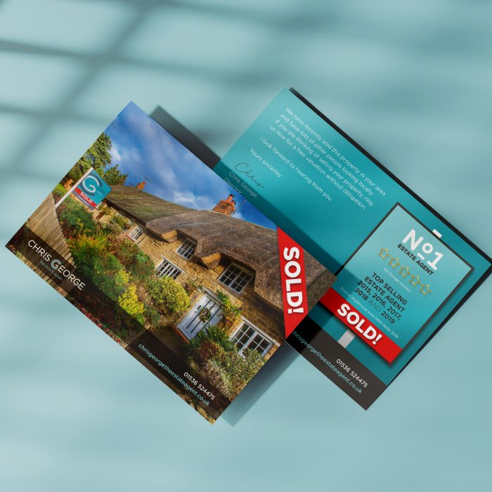 Chris George Estate Agents-Promotional Marketing Collateral