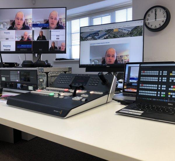 Gazeley – Virtual event production