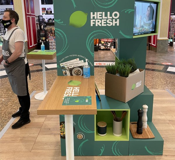HelloFresh Shopping Centre Relaunch