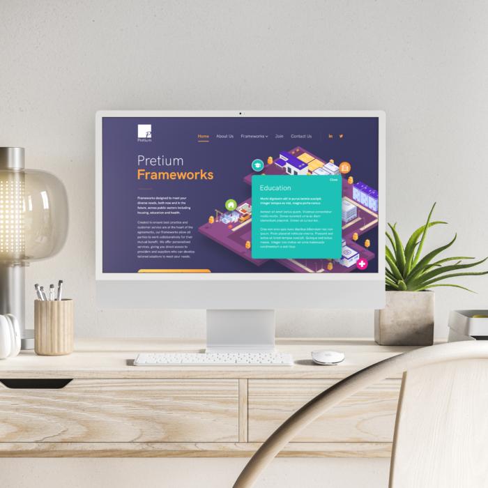 Pretium – Website