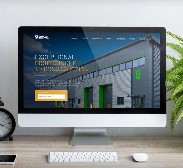 Glencar Construction – Website